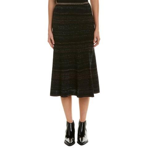 Bcbgmaxazria High-Waisted Flare Skirt