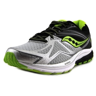Saucony Ride 9 Men  Round Toe Synthetic Silver Running Shoe