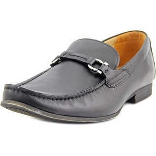 Steve Madden Winlock Square Toe Leather Loafer