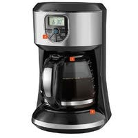 Spectrum Brands Cm4000s Black & Decker 12-Cup Programmable Coffeemaker - Black