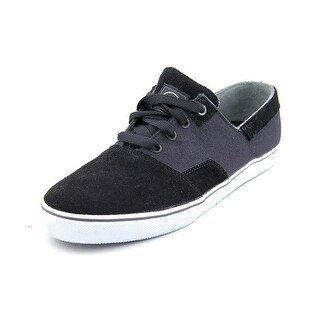 DVS Torey 2 Men Round Toe Suede Black Skate Shoe