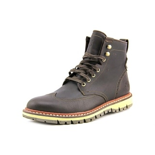 Timberland Earthkeepers Britton Hill Men  Wingtip Toe Leather Brown Boot