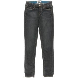 Paige Womens Skyline Skinny Jeans Denim Dark Wash