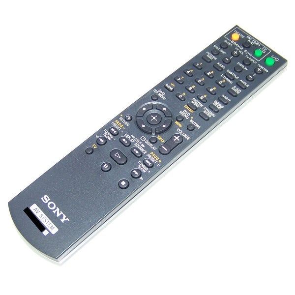 OEM Sony Remote Control Originally Shipped With: DAVDZ570, DAV-DZ570