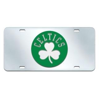 "NBA - Boston Celtics License Plate Inlaid 6""x12"""