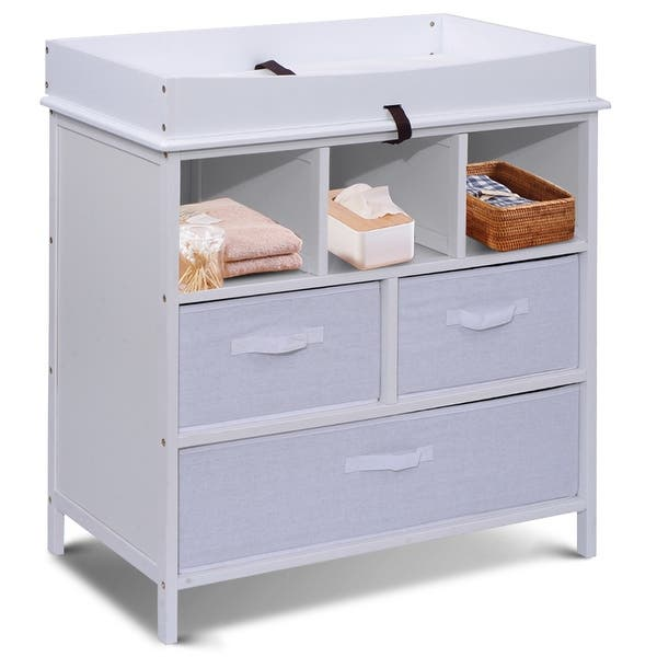 Costway Infant Baby Diaper Station