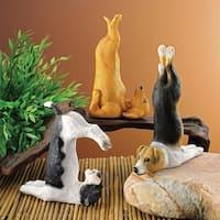 Design Toscano  The Zen of Canine Yoga Dog Statues: Set of Three