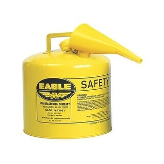 Eagle UI-50-FSY Type-I Safety Diesel Can, 5 Gallon