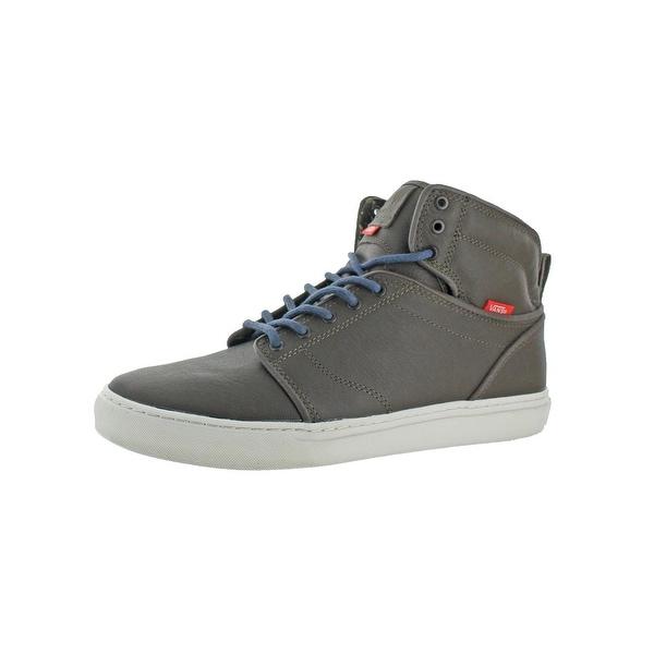 20714c9d9e Vans Mens Alomar Solider High Top Sneakers Embossed Cut-Out - 11.5 medium (d
