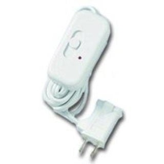 Lutron Electronics TT-300H-WH Table Lamp Dimmer, White