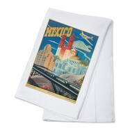 Mexico c. 1944 - Vintage Advertisement (100% Cotton Towel Absorbent)