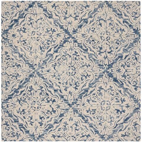 Safavieh Handmade Blossom Letty Modern Floral Wool Rug