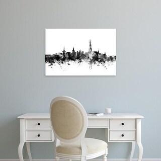Easy Art Prints Michael Tompsett's 'Bern Switzerland Skyline' Premium Canvas Art