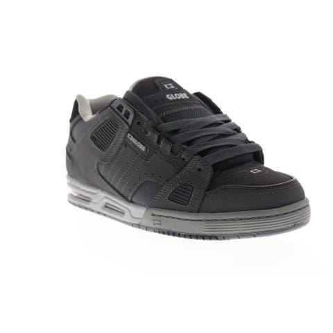 Globe Sabre Dark Shadow Grey Mens Athletic Skate Shoes