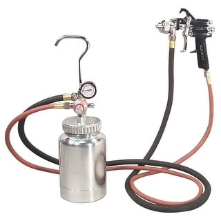 Astro 2pg7s astro 2pg7s 2 quart pressure pot with gun and hose paint and body spray guns