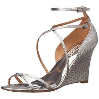 Badgley Mischka Women's Melaney II Wedge Sandal