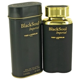 Black Soul Imperial by Ted Lapidus Eau De Toilette Spray 3.33 oz - Men