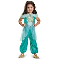 Disguise Jasmine Classic Toddler Costume - Green