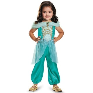 Disguise Jasmine Classic Toddler Costume - Green  sc 1 st  Overstock.com & Costumes u0026 Dress Up | Find Great Childrenu0027s Clothing Deals Shopping ...
