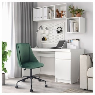 Link to Porch & Den Voges Ergonomic Home Office Chair Similar Items in Home Office Furniture