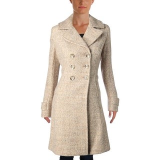 Ivanka Trump Womens Pea Coat Winter Wool Blend