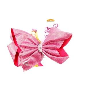 Bow Rhinestone - Jojo Siwa, Glitter Pink