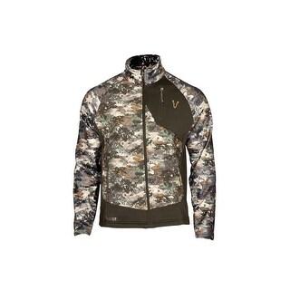 Rocky Outdoor Jacket Mens Fleece Zip Front Lightweight Camo HW00204