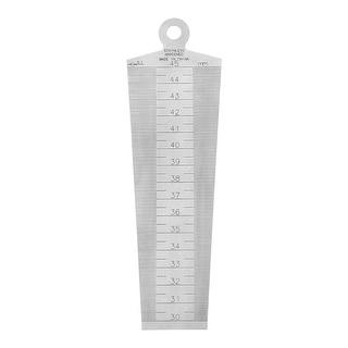 30-45mm Taper Guage Feeler Welding Gauge Gap Hole Measuring Tool Metric
