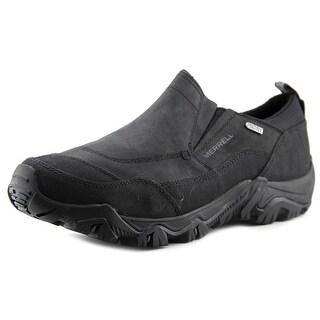 Merrell Polarand Rove Peak Waterproof Loafer Men Leather Black Sneakers