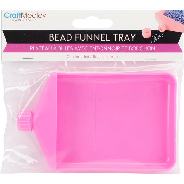 "Bead Funnel Tray-4.75""X3""X.625"""
