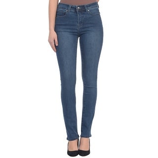 Lola Jeans Kate-MB, High Rise Straight Leg Jeans With 4-Way Stretch Technology