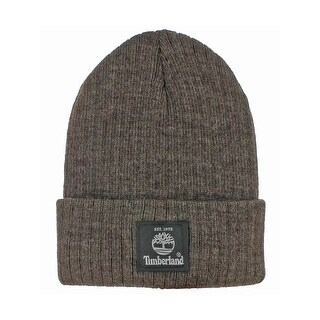 Timberland Mens Watchcap Beanie Hat Cuffed Branded - o/s
