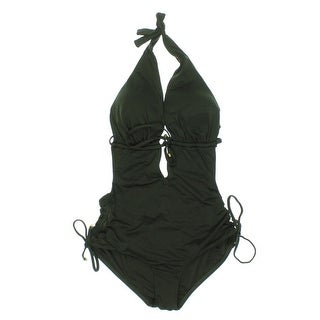 Vitamin A Womens Halter Monokini Swimsuit