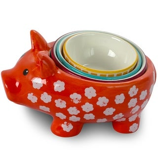 Link to 4 Piece Durastone Figural Pig Measuring Cup Set in Assorted Colors Similar Items in Cooking Essentials