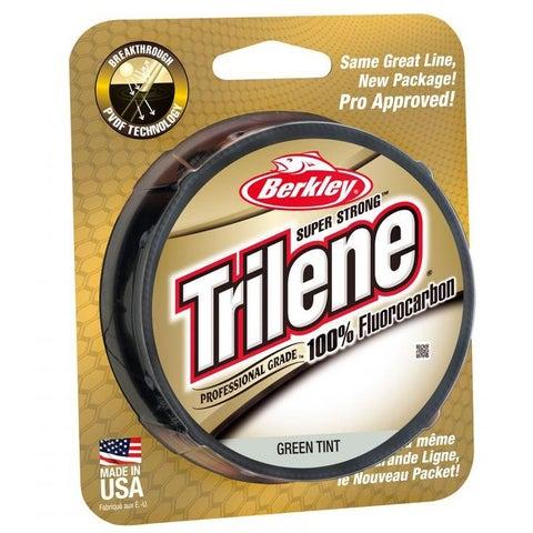 Berkley Trilene 100% Fluorocarbon Fishing Line (200 yds) - Green Tint