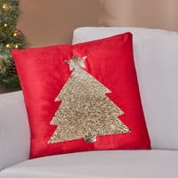 Buy Velvet Christmas Throw Pillows Online At Overstock Our Best Decorative Accessories Deals