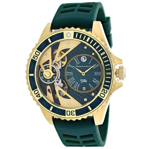 Oceanaut Men's Tide Green Dial Watch - OC0995 - One Size