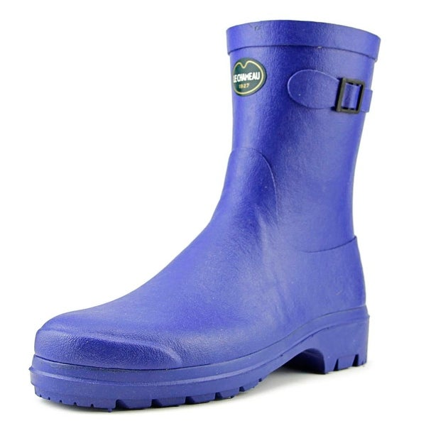 Le Chameau Low Boot II   Round Toe Synthetic  Rain Boot