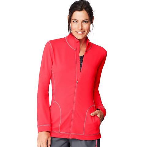 Hanes Sport Women's Performance Fleece Zip Up Jacket