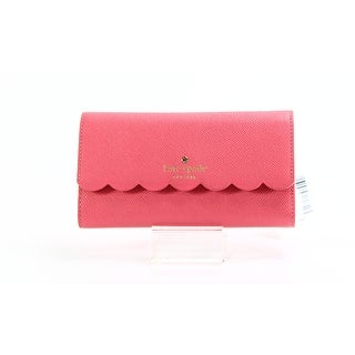 Kate Spade NEW Pink Morris Lane iPhone 7 Trifold Leather Wallet