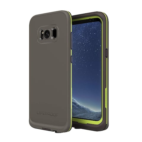 Lifeproof FRE Waterproof Case Dropproof, Shockproof for Samsung Galaxy S8 PLUS (ONLY) - Second Wind, Dark Grey Slate Grey Lime
