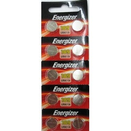 Energizer LR1130 AG10 189 Alkaline Cells 10 Batteries
