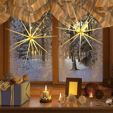 Christmas 2 Pack LED Firework Fairy String Lights