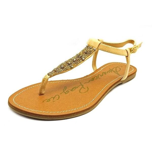 American Rag Womens MELLY Split Toe Casual T-Strap Sandals