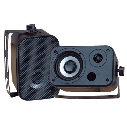 """""""Pyle Audio PYLPDWR40BB Pyle Home PDWR40B 5.25-Inch Indoor Outdoor Waterproof Speakers"""""""
