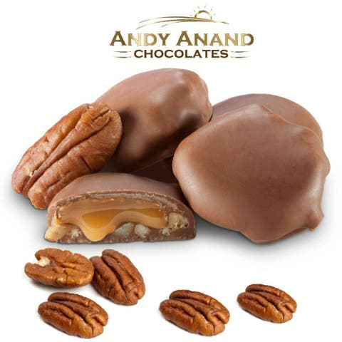 Andy Anand Sugar free Milk Chocolate Pecan Box (1 lbs)