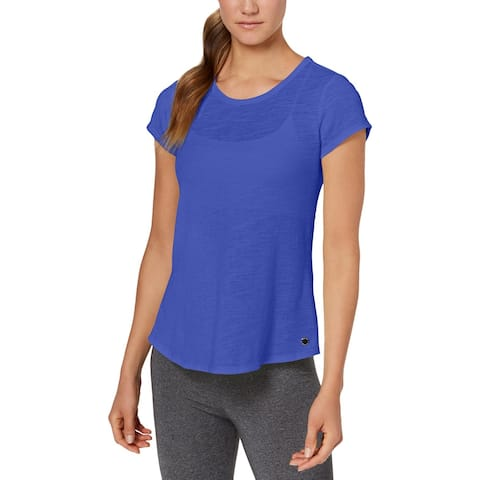 Calvin Klein Performance Womens Pullover Top Fitness Yoga