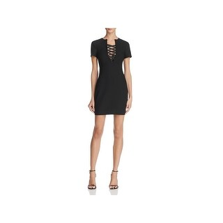 Likely Womens Judd Mini Dress Short Sleeve Evening