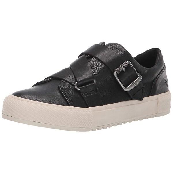 FRYE Women's Gia Moto Low Sneaker