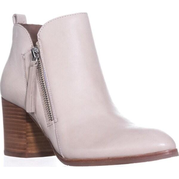 Donald J Pliner Edyn Side Zip Ankle Boots, Bone - 6 us